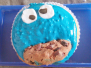 Krümelmonster Cupcake