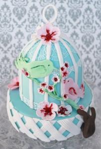 Vogelkäfig Torte