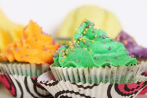 Halloween Cupcakes mit Buttercreme