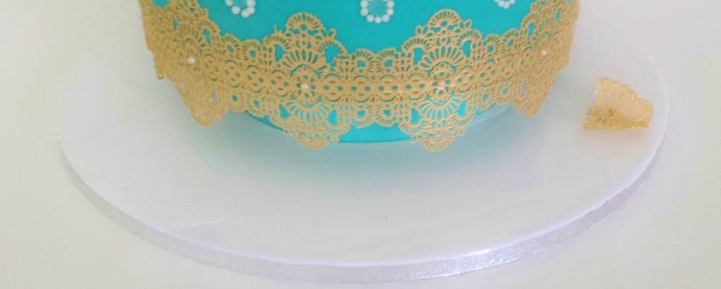 Cakeboard weiß